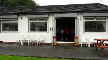 Cricket Pavilion for refreshments - 15 July 2017